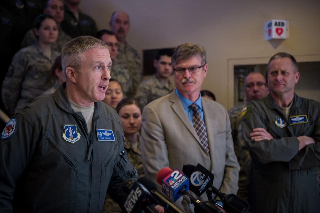 107th Attack Wing redesignation ceremony