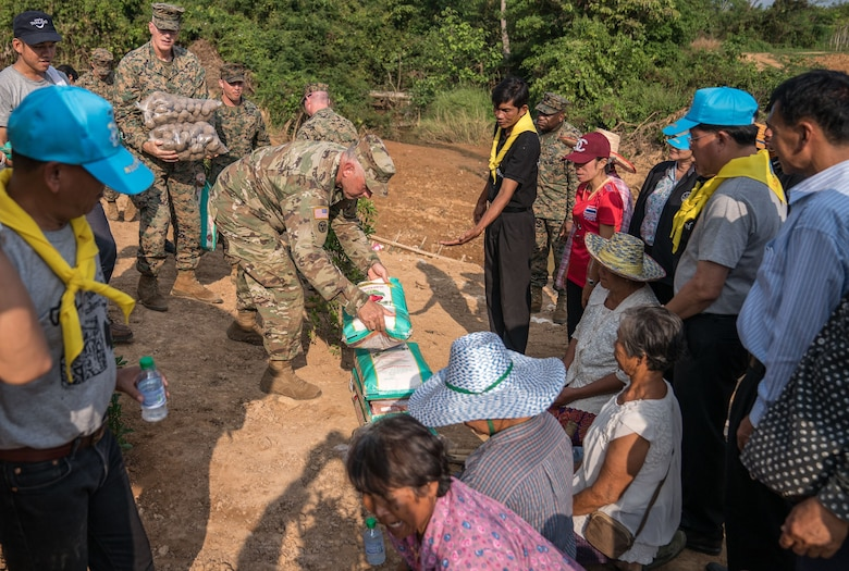 US Army, Marines work with partners to help Thai communities in Cobra Gold exercise