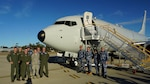 Defense Contract Management Agency Boeing Seattle recently delivered the sixth P-8A Poseidon aircraft to the Royal Australian Air Force, 11 Squadron, based out of Edinburgh Air Base, Australia. The joint DCMA and RAAF team flew more than 24 hours on a journey that began in Seattle and ended at RAAF's 11 Squadron. (Photo courtesy of DCMA Boeing Seattle)