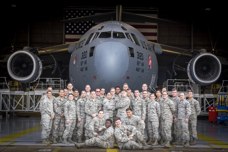 Congratulations to the Airmen who graduated Julius A. Kolb Airman Leadership School Jan. 5, 2018 at McChord Field, Wash. (U.S. Air Force Courtesy Photo)