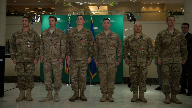 SOST members earn Bronze Star Medals