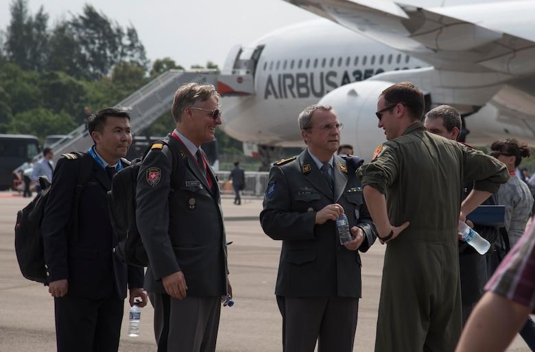 Team Misawa strengthens alliances at 2018 Singapore International Airshow