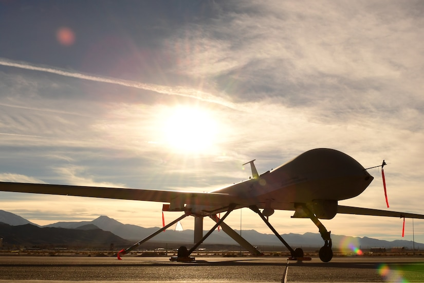The Predator started as an RQ-1 in the late 1990s, providing only reconnaissance capabilities until the early 2000s, when it was equipped with two AGM-114 Hellfire missiles and designated as a multirole asset.