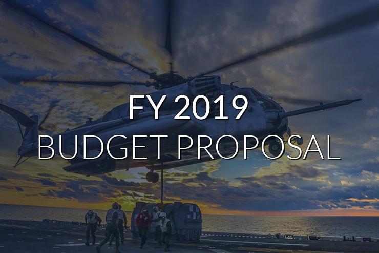 FY 2019 Budget Proposal
