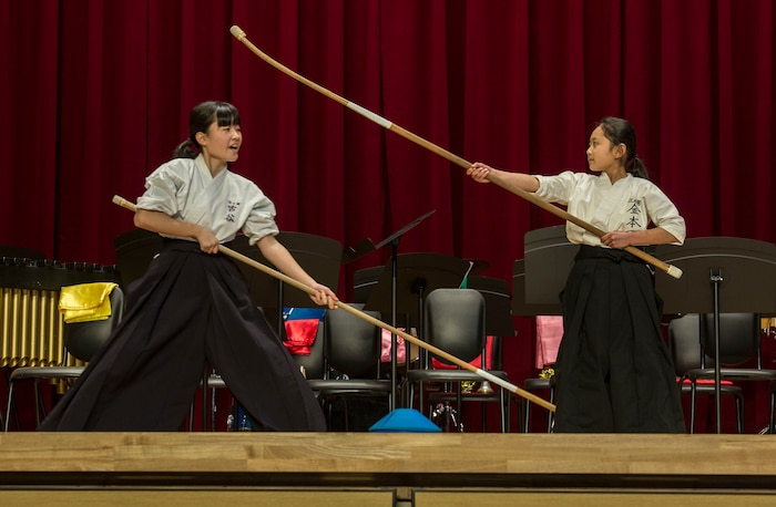 American, Japanese students mix it up through music, martial arts