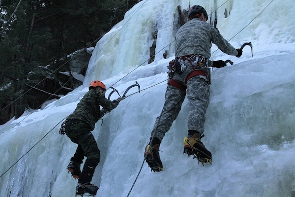 N.H. troops practice cold-weather operations with Canadian forces