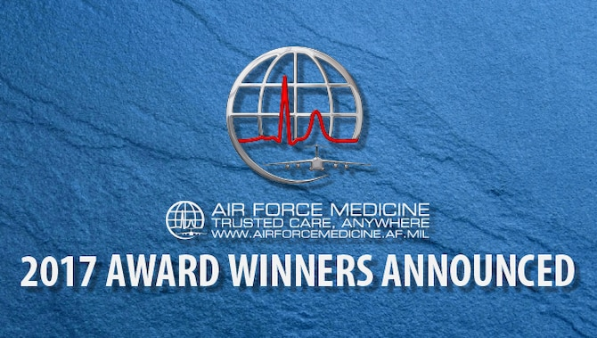 The Air Force Surgeon General has announced the recipients of the Air Force Medical Service 2017 individual and team Annual Awards. (U.S. Air Force graphic)