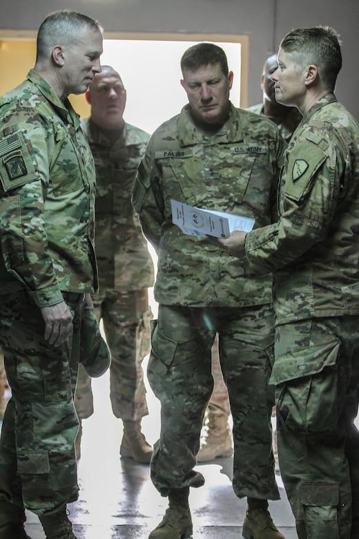Army Reserve General Officers visit K-Crossing