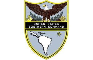 U.S. Southern Command emblem.
