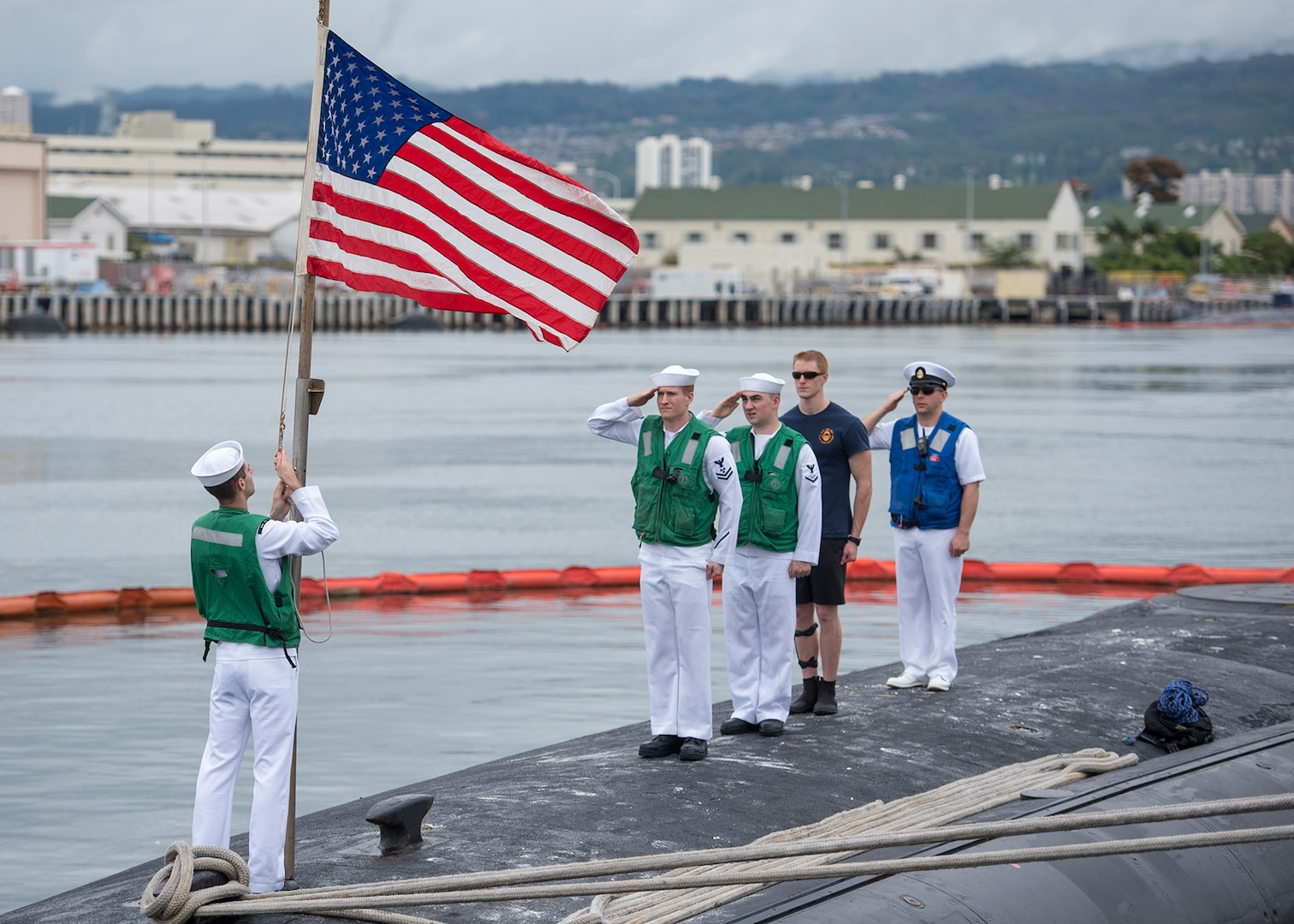 USS Texas returns to Pearl Harbor after deployment