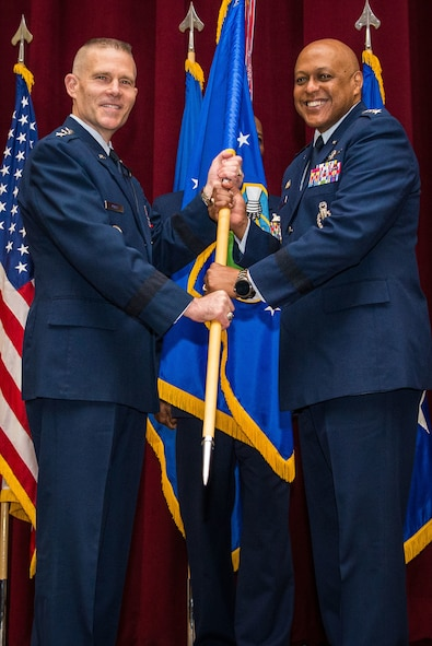 Lt. Gen. Cotton assumes command of Air University