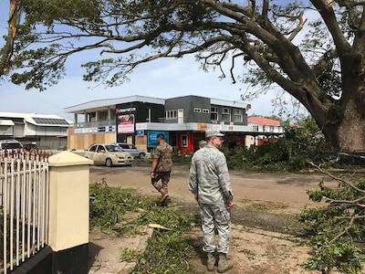 Nev. delegation weathers cyclone in Tonga