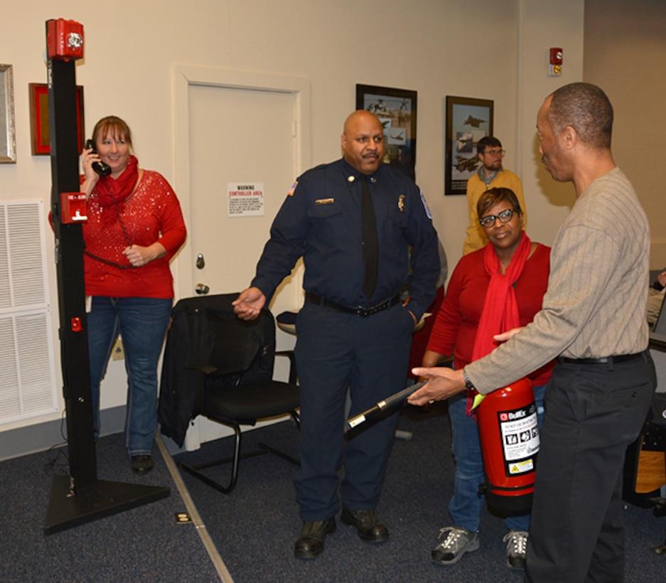 Fire Warden training Feb 2018