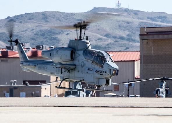 Bittersweet farewell as last 3rd MAW Super Cobra takes final flight