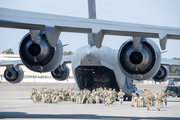 Airmen support joint Large Package Week, EDRE