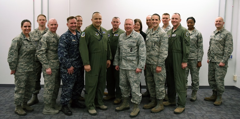 20th Air Force Command Team Visits Kirtland