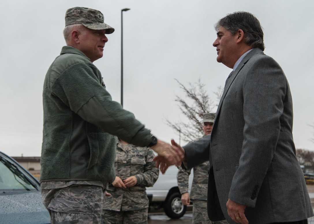 20th Air Force Command Team Visits Kirtland