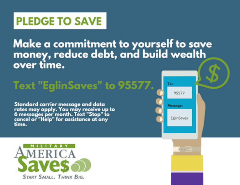 pledge to save