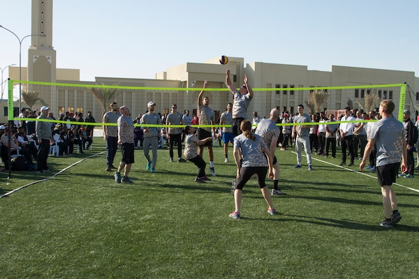 Qatar Armed Forces National Sport Day activities > U S  Army