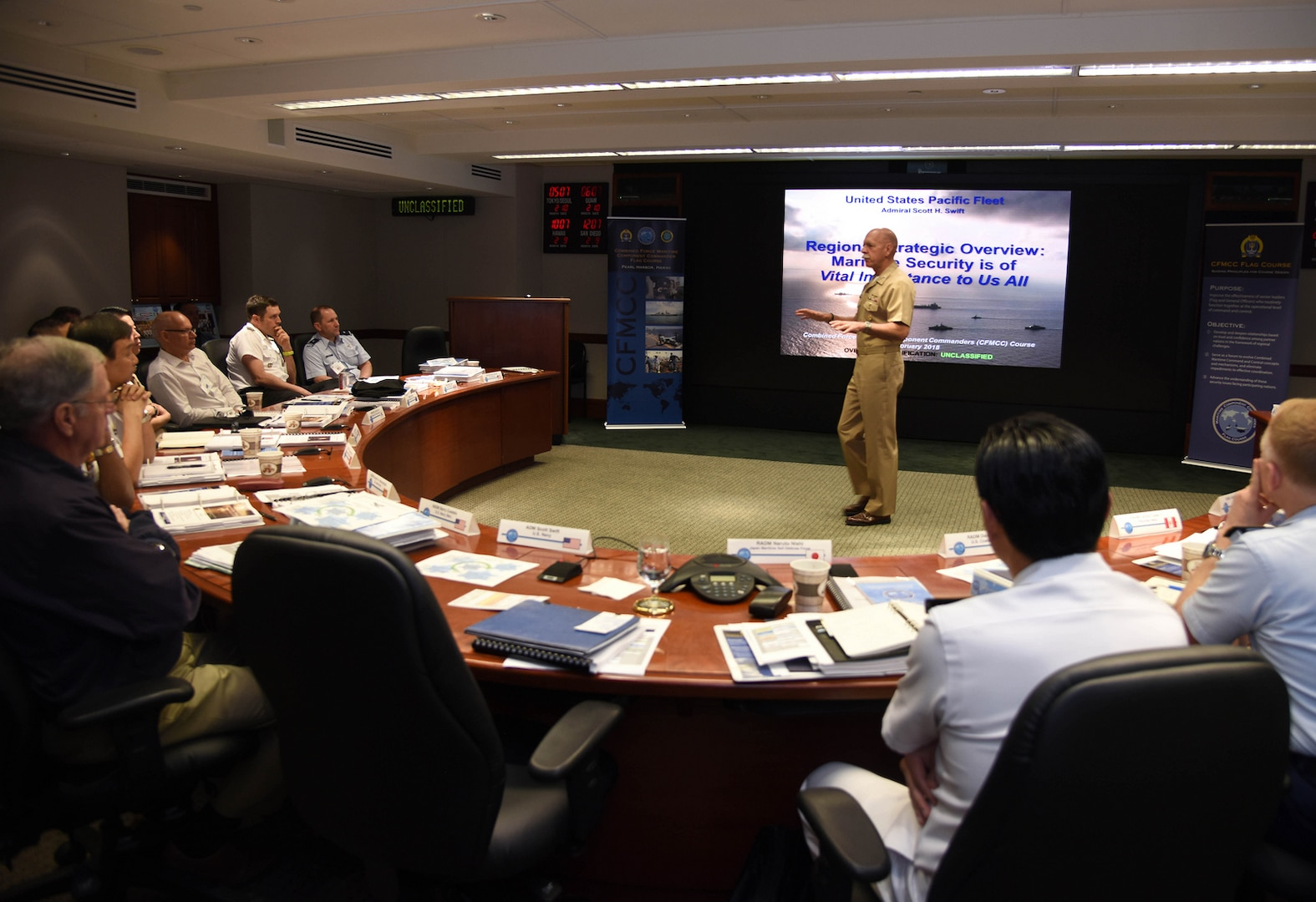 Pacific Fleet hosts annual senior leaders course amid complex regional challenges