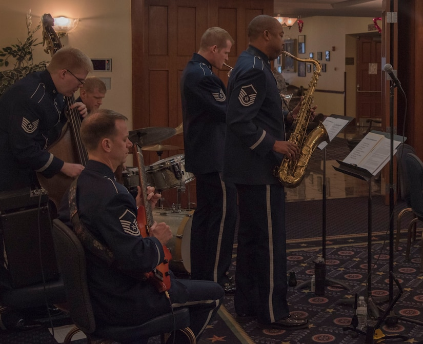Airmen of Note perform at Black History Month luncheon