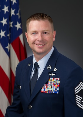 Chief Master Sgt. Ricky Smith, official photo, U.S. Air Force