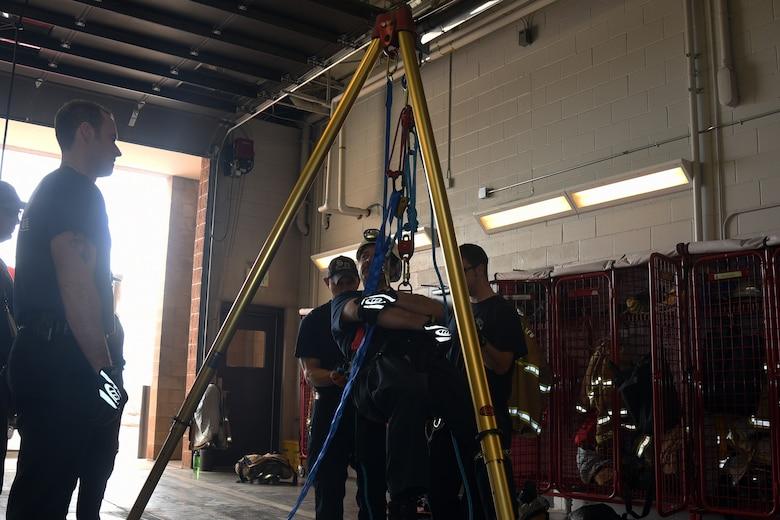 firefighter exercise