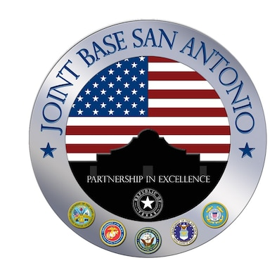 Joint Base San Antonio graphic.
