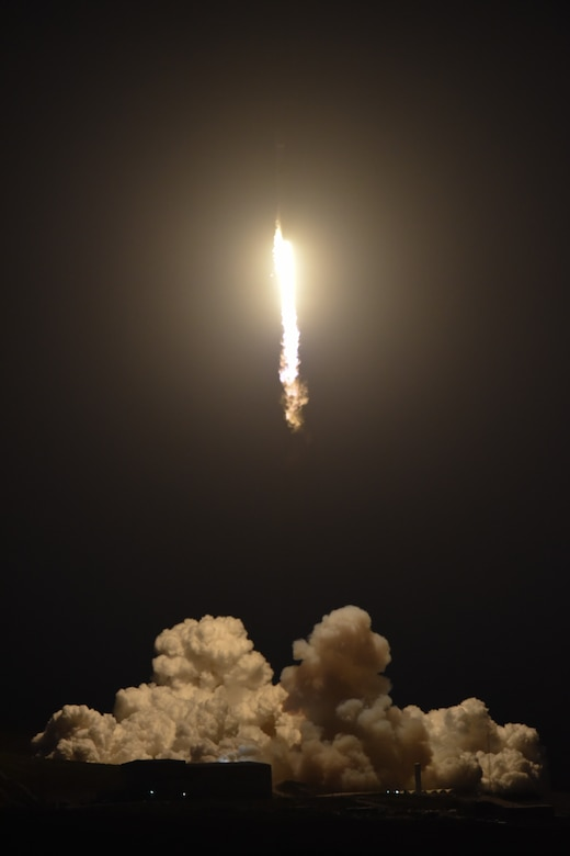 Falcon 9 PAZ launched from Vandenberg