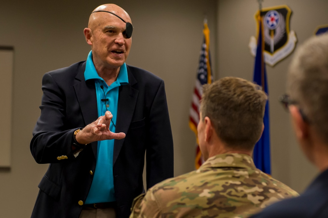 Vietnam veteran talks long-term resilience to ST Airmen