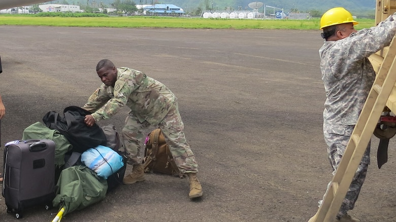 Army Reserve answers first call for disaster support relief in American Samoa