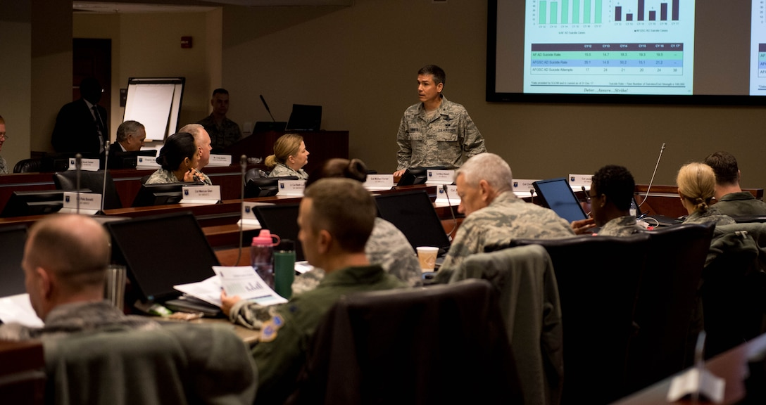 AFGSC hosts human weapons system team conference
