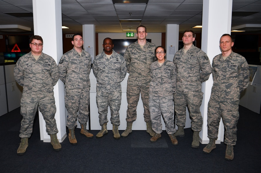 21st OWS Airmen skillfully protect servicemembers across Europe by precisely, skillfully predicting the worst European storm in 11 years.
