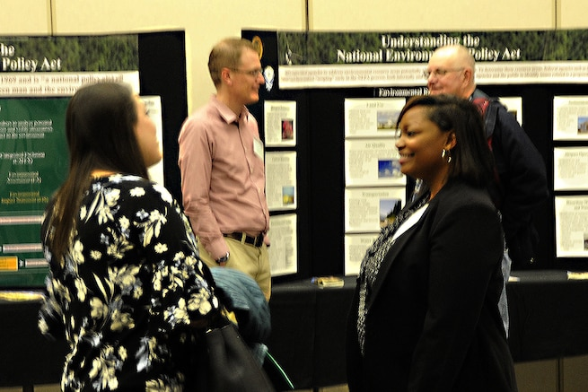 Local community members and civic leaders met with members of the 127th Wing Wednesday during a scoping meeting at the Wheeler Community Center in Clinton Township, Mich. to discuss F-35 basing at Selfridge.      The meeting, a component of the Air Force's environmental impact study, provided a forum to collect public comments and concerns regarding the F-35 bed down proposal.Even though Selfridge was not one of the two bases selected as a preferred alternative to base the F-35, the base is still considered a reasonable alternative.