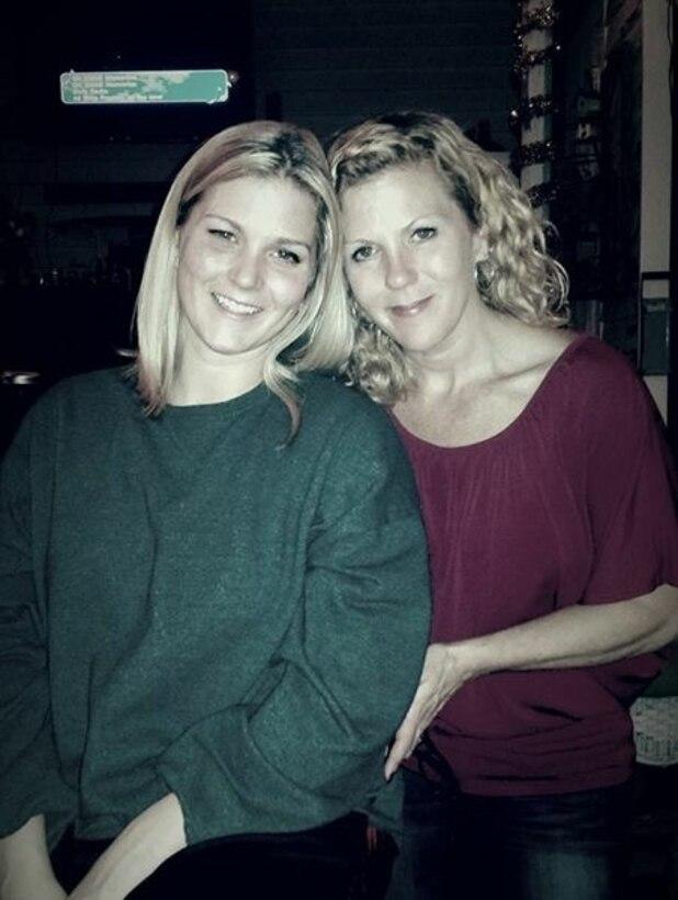 Courtesy photo--left, Staff Sgt. Amanda Robbins, right, Staff Sgt. Rebecca Ward