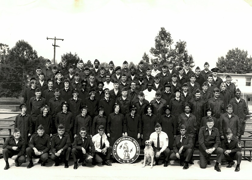 I.G. Brown; TEC; ANG; NCO academy