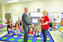 Seitz Elementary recognizes the late General's 100th birthday, legacy that continues to shape current, future students