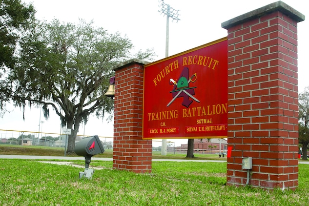 A recruit was resuscitated during forming day two of recruit training aboard Marine Corps Recruit Depot Parris Island Feb. 4. The recruit fell unconscious as her stopped and was revived by first responders. The recruit is with Oscar Company of 4th Recruit Training Battalion.