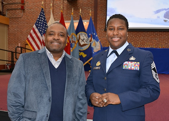 Speaker encourages service with resiliency at African-American History Month presentation