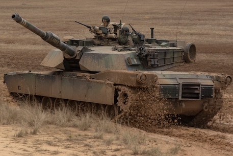 Any clime and place: 2nd Tank Battalion trains at Fort Stewart