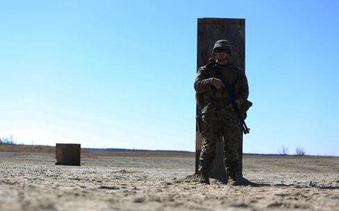 Marine holding weapon