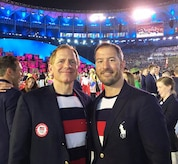 Team doctors pose for a photo at 2016 Olympics.