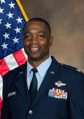 The official photo of Col. Patrick Campbell, 94th Operations Group commander.