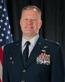 Official Portrait of U.S. Air Force Col. John Pogorek, 157th Operations Group commander, New Hampshire Air National Guard, Dec. 22, 2017, Pease Air National Guard Base, N.H. (N.H. Air National Guard photo by Staff Sgt. Kayla R. Rorick)