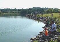 Fishing at Yatesville Lake