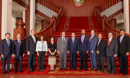 Two High-Ranking U.S. Congressional Delegations Visit Lao PDR
