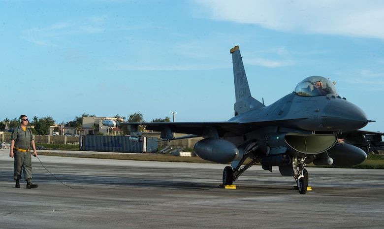 14th AMU patches up, beds down F-16s at COPE NORTH