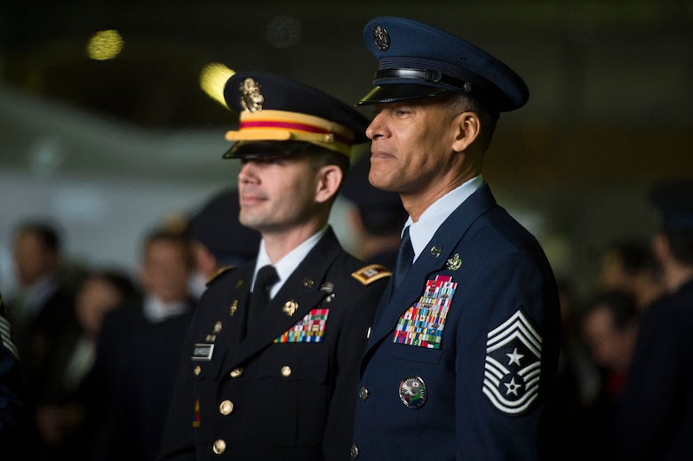JTAGS commander with USFJ, 5th AF command chief