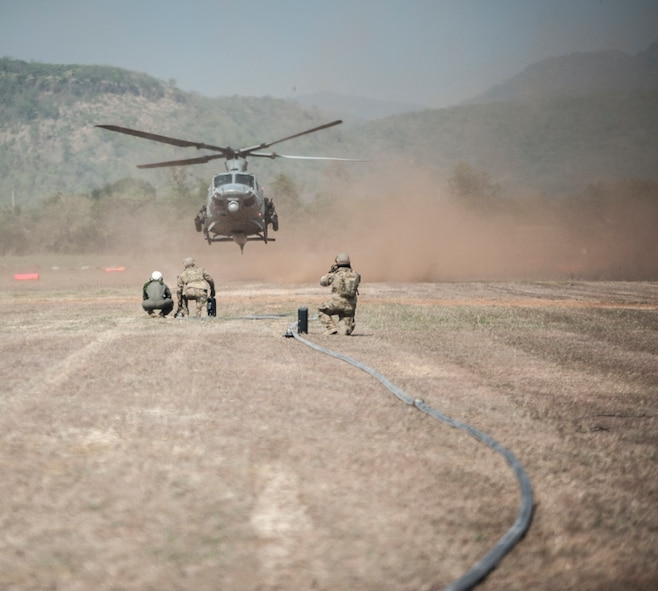 1st SOS conducts FARP operations during Cobra Gold 2018