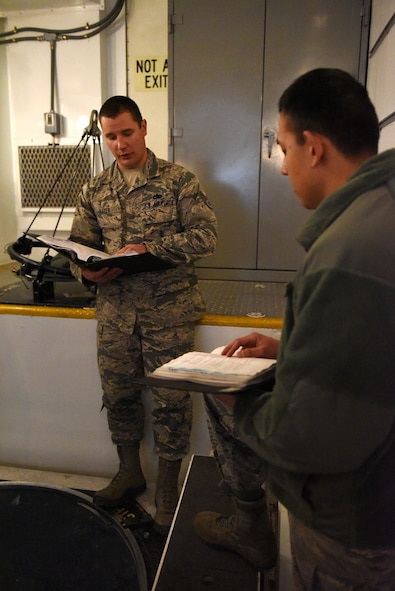 373rd TRS Det. 2 missile maintenance training